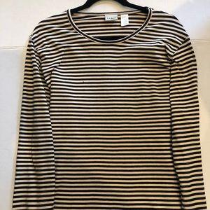 L.L. Bean striped longsleeve T-shirt